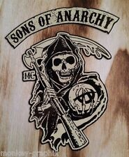 "27cm Old School Sticker "" Sons of Anarchy  ""  Aufkleber Biker - Bobber - Chopper"