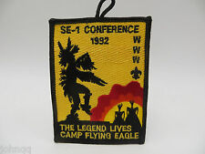 Boy Scouts BSA OA 1992 SE-1 Conference Camp Flying Eagle Patch