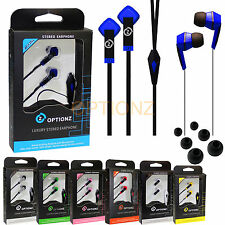 Optionz 3.5mm Headphone Earphone Headset Stereo for iPhone iPod MP3 4 PC Tablet