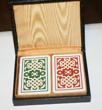 1949 Vintage Professional Quality Playing Cards KEM Double Deck