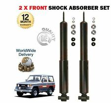 FOR TOYOTA LANDCRUISER 2.4 2.4TD 3.0TD 1984-1996 NEW 2 x FRONT SHOCK ABSORBER
