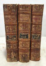 3 NOUVEAU DICTIONNAIRE HISTORIQUE 1804 Antique French Books