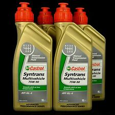 4l CASTROL SYNTRANS Multivehicle 75w-90 1l QUADRO OLIO MB, 235.72, FORD