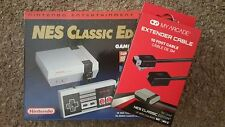 900+ Games Modded NES Classic Edition Console With Extender cable nintendo NEW