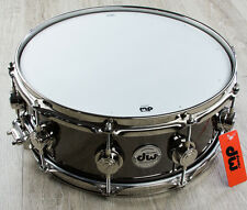 DW Drum Workshop Collectors Series Snare Black Nickel Over Brass 5.5 x 14""