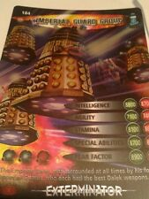 dr who EXTERMINATOR CARD  RARE 184 imperial guard group