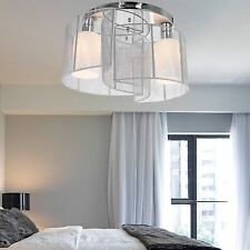 NOV Crystal Chandelier Ceiling 5 Lamp Pendant Light Fixture Modern Contemporary