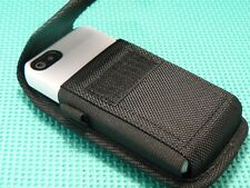 Nylon Metal Belt Clip Pouch Holster For Incipio Dual Pro Iphone 5 Case - Black