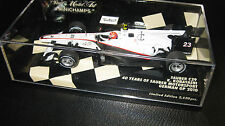 1.43 MINICHAMPS F1 SAUBER C29 GERMAN GP 2010 K KOBAYASHI  #23 40yrs OF SAUBER