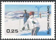 Finland 1968 Tourism/Winter Sports/Games/Skiing/Holidays/Animation 1v (s333e)
