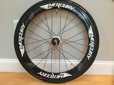 Mercury M5 rear carbon clincher with PowerTap hub Shimano/SRAM