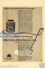 Staubsauger Protos Reklame von 1926 Siemens Schuckert Hoover Vacuum cleaner ad