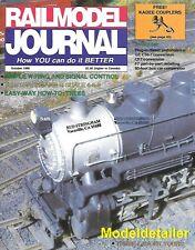 RailModel Journal Oct.90 ATSF CF7 Tree Thurmond W Va PRR EMD F7 Reefer Diesel