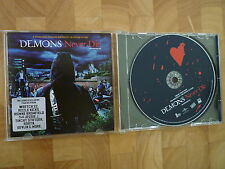 DEMONS NEVER DIE Nr MINT SOUNDTRACK CD WRETCH 32 RIZZLE KICKS JESSIE J ROBYN etc