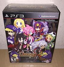 PS3 Playstation 3 Game Disgaea 4 A Promise Unforgotten Premium Edition 2011 NEW!