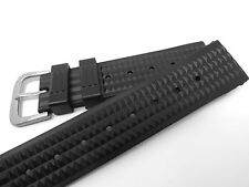 Men's 20mm WAFFLE STRAP for your SEIKO or Citizen Diver Monster SKA371 SKA369
