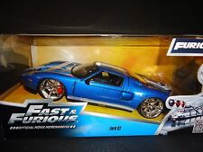 Jada Ford GT 2005 Blue Fast and Furious 1/24