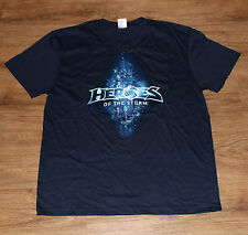 Heroes of the Storm rare Promo T-Shirt Blizzard Entertainment Size L