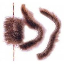 Beaver Fur Bowstring balls Silencers Recurve Longbow archery hunting