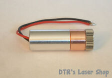 50mW 520nm PL520 Green Copper Laser Module W/Microboost Driver & Aixiz Glass