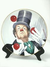 "Red Skelton Collectible Plate ""W.C.Fields"" Limited Ed Clawn Only 8747 of 10,000"