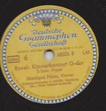 Monique Haas spielt Maurice Ravel 1949 im Hamburg : Klavierkonzert G-dur