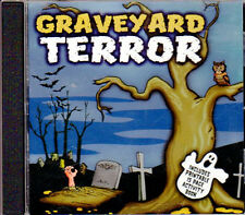 GRAVEYARD TERROR: SPOOKY HALLOWEEN HORROR SOUND EFFECTS FOR A HAUNTED CEMETERY!