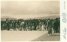 Olympic Games, 1896 cyclists beginning the twelve-hour race Sport Photo M 154