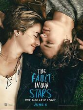 Sam Trammell & Nat Wolff signed The Fault In Our Stars 8x10 photo