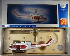 CORGI US50402 HUEY IROQUOIS HELICOPTER LOS ANGELES FIRE DEPARTMENT 1:50 LTD ED