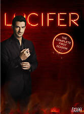 Lucifer: The Complete First Season (DVD, 2016, 3-Disc Set) NEW/SEALED