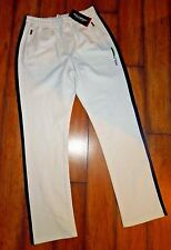 RALPH LAUREN polo Sport athletic PANTS sweatpants white BLUE  LARGE L