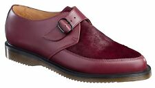 Dr. Martens Ashland Pointed Monk Men's 14 Shoes Cherry Red Smooth Hair on Horsey