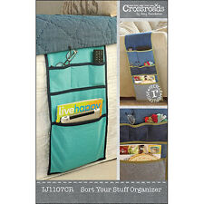 """INDYGO JUNCTION """"SORT YOUR STUFF ORGANIZER"""" Sewing Pattern"""