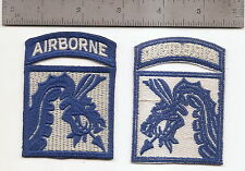 #044 US ARMY 18TH CORPS AIRBORNE COMBAT PATCH