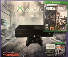 XBOX ONE 1 TB + the Division + Rainbow Six Siege Limited Edition Package NEW