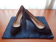 SERGIO ROSSI Luxus Schuhe Pumps High Heels 37,5 NP:489,00 blau NEU !!!
