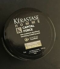 Kerastase Homme Capital Force Densifying Modelling Paste 2.55oz - NEW & FRESH!