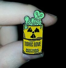 Toxic Hat Pin Sticker icp twiztid juggalo insane clown posse Hatchetman lapel