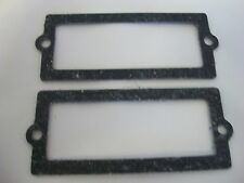 NOS OEM OMC JOHNSON EVINRUDE PKG OF 2 LEAF PLATE GASKETS 321907 0321907