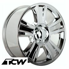 (4) 20 inch Chevy Silverado 1500 OE Replica Chrome Wheels Rims 6-lug 6x5.50 +31