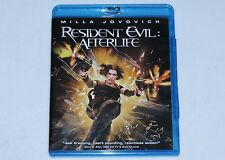 Resident Evil Afterlife ADULT OWNED Blu-ray 2010 Blu Ray Movie MILLA JOVOVICH
