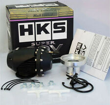 HKS Black Universal SSQV SQV Turbo Pull-type Blow Off Valve Bov with Adapter NEW