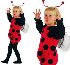 Childrens Kids Ladybird Fancy Dress Costume Lady Bug Kids Childs Outfit 2-3 Yrs