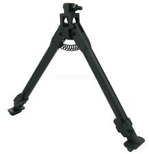 "SKS Bayonet Mount Foldable Aluminum Medium Height Short Bipod 9"" - 13"""