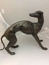 Bronze Greyhound Large Statue Ethan Allen Home Collection Dog