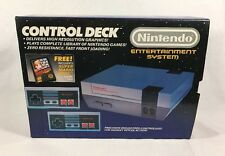 Nintendo NES Control Deck Mario Bros. Console Collectors Quality *Box Only*