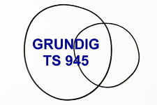 SET BELTS GRUNDIG TS 945 REEL TO REEL EXTRA STRONG NEW FACTORY FRESH TS945