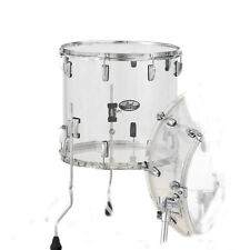 Pearl Crystal Beat Acrylic Floor Tom 14x13 Ultra Clear - CRB1413F/C730