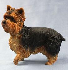 yorkshire terrier  figur  hund leonardo hundefigur  alabaster